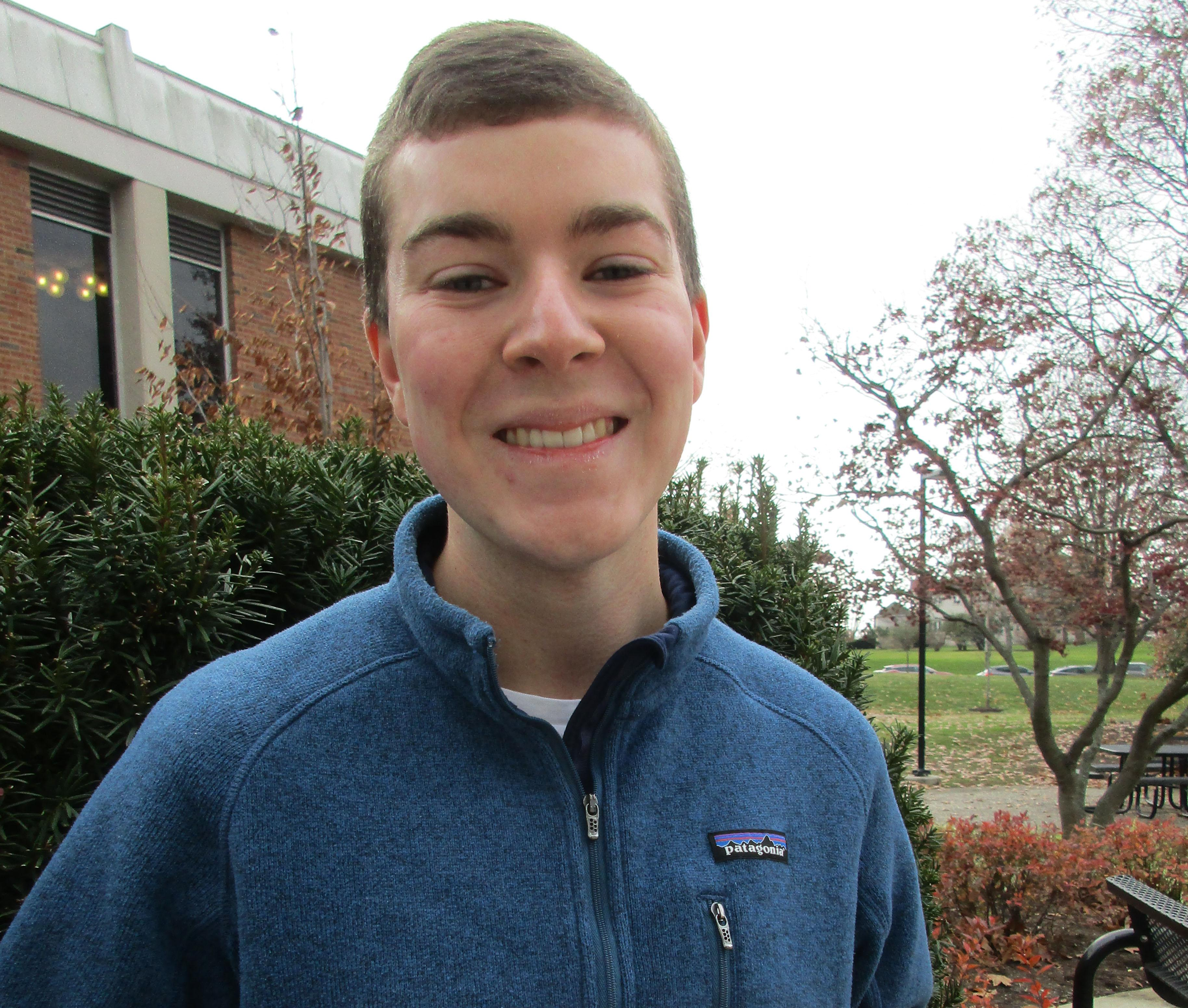 Chase Thornton is the recipient of the Fall 2017 Glenn B. Collins Research Achievement Award in Agricultural Biotechnology.
